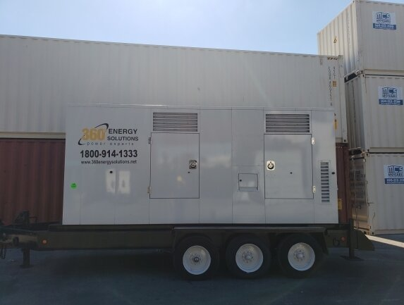 Cummins 350 kW Dual Voltage Portable Generator