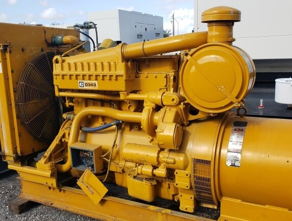 Caterpillar Skid Mounted D343- 275kW @ 480v