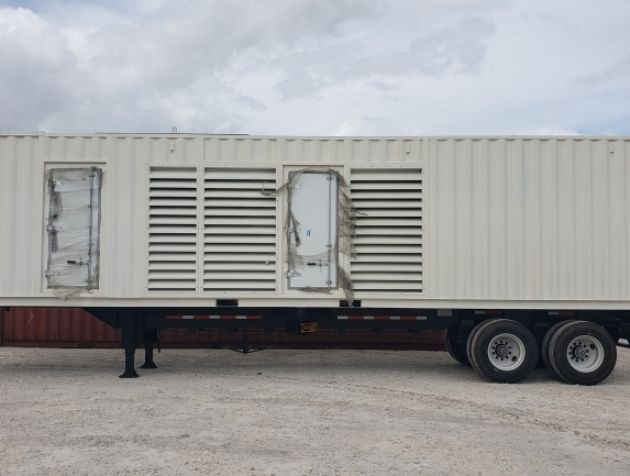 30 & 40 FT Generator Ready ISO Container Enclosures