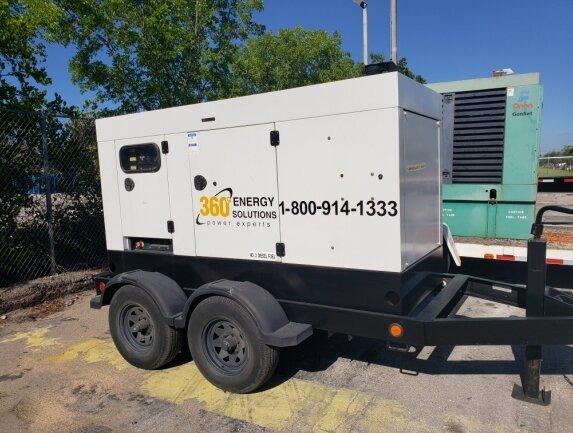 Terex 90 kW portable Generator ( Cummins Engine)